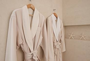04 - Taylor Interiors Bespoke bathing robes with broidery