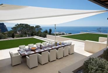05 - Taylor Interiors exclusive bespoke dining table for outdoor terrace Andratx Mallorca