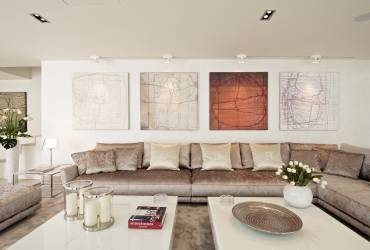 05 - Taylor Interiors Exclusive living room with sofa Andratx Mallorca