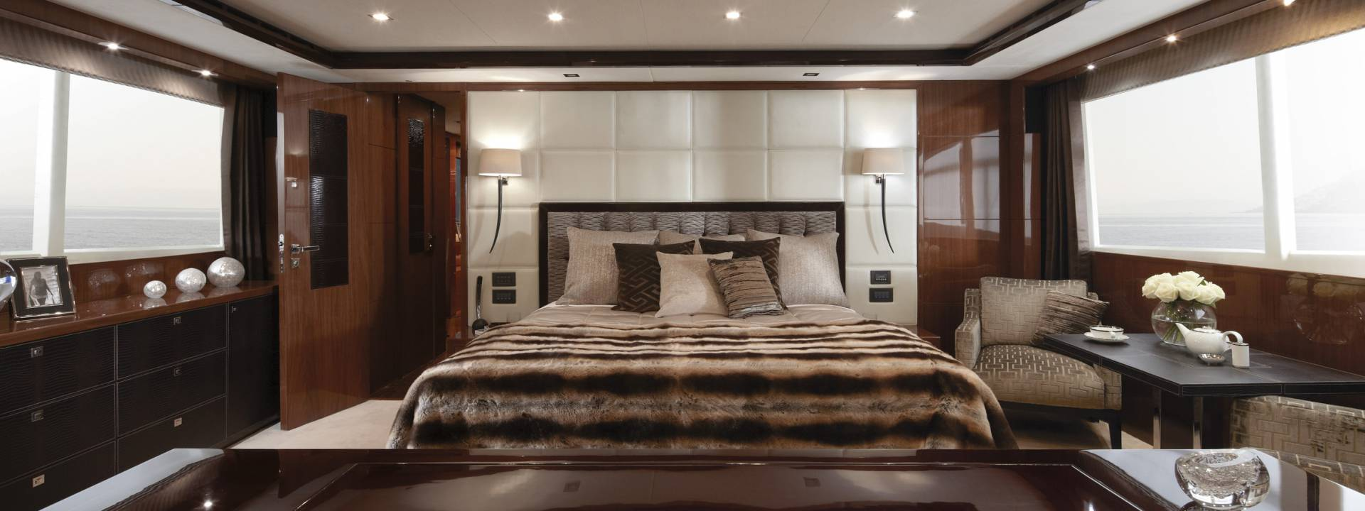 Seamlessly sophisticated design for YACHT INTERIORS