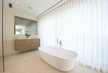 01 - Taylor Interiors minimalist luxury bathroom Andratx Mallorca