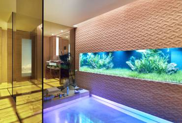 Le Provencale Residences. Contemporary swimming pool.