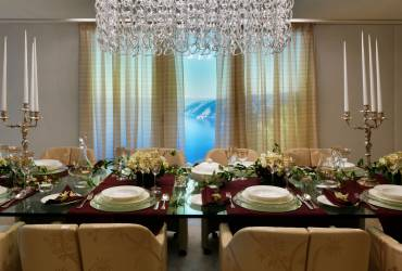 Le Provencale Residences. Luxury dining  room.