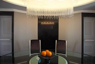 Luxury penthouse, exclusive suit at Baglioni Hotel