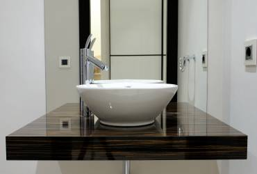 Interior design - modern villa Mallorca - modern bathroom