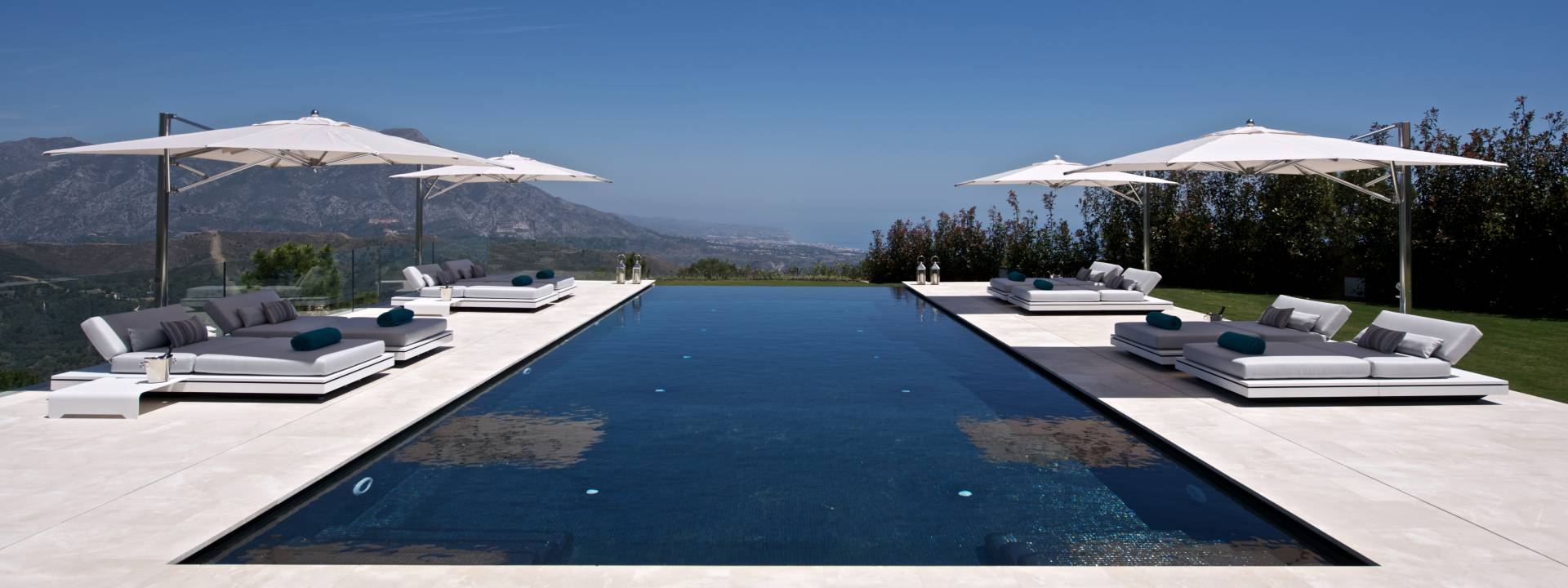 Exclusive Holiday Villa with spectacular swimming pool by Yvette Taylor London