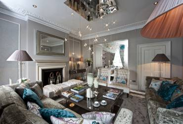Exquisite Town-house.  Stunning reception room. Taylor Interiors.