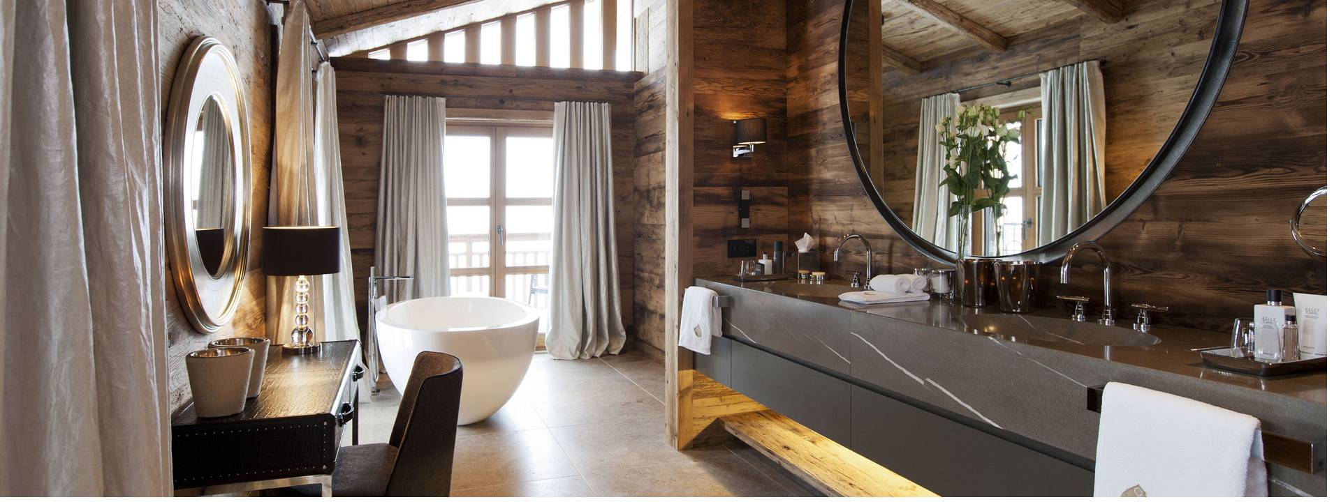 Luxury Winter Chalet,  bathroom, Switzerland