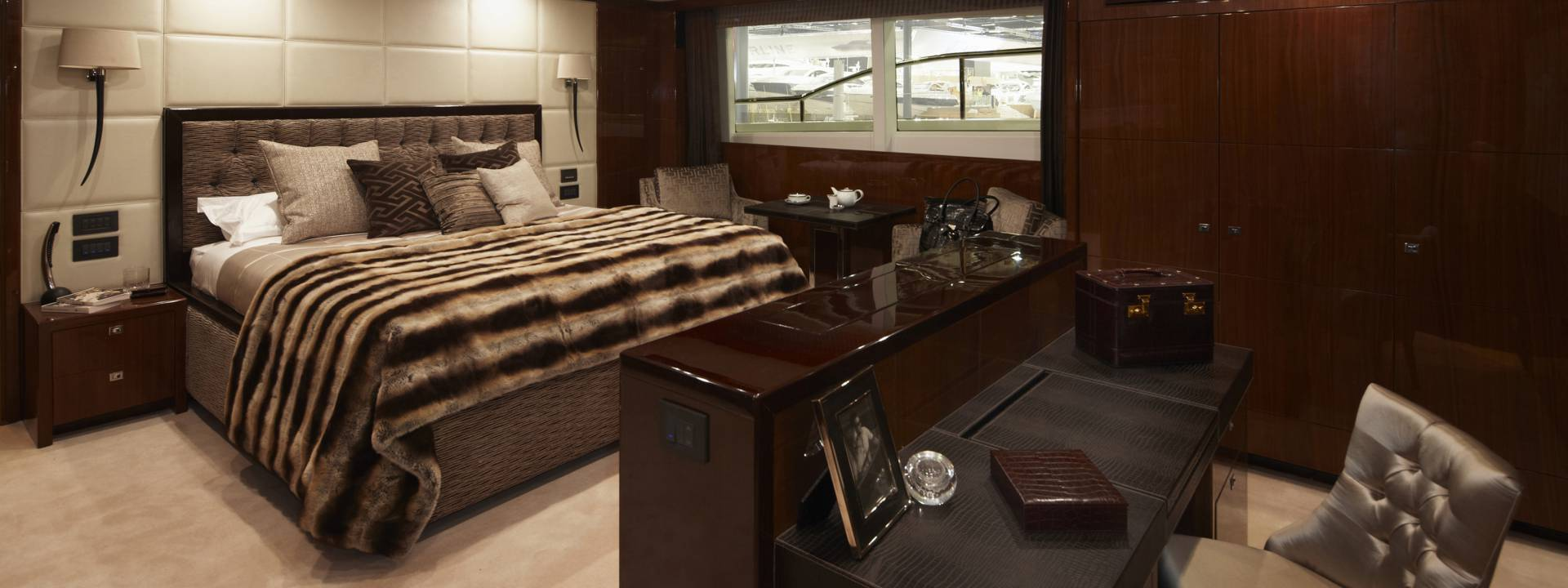 Luxury Yacht Bedroom, Yvette Taylor London